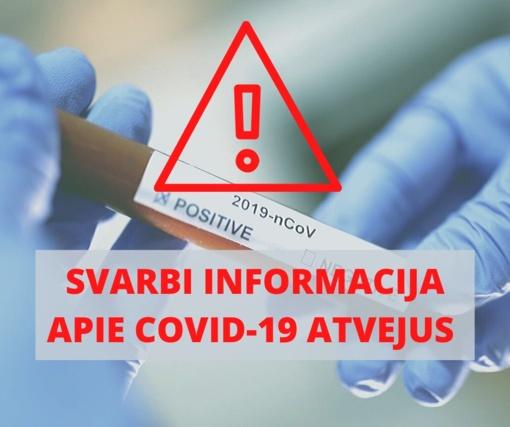 Vilkaviškio rajonui priskirti dar du susirgimai koronavirusu