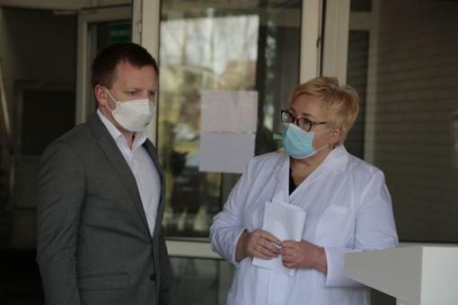 Apie koronažidinį Marijampolės ligoninėje – klausimai merui ir direktorei