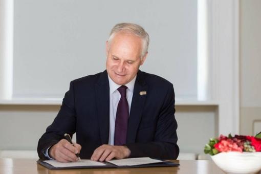 Gauta Švietimo, mokslo ir sporto ministro padėka