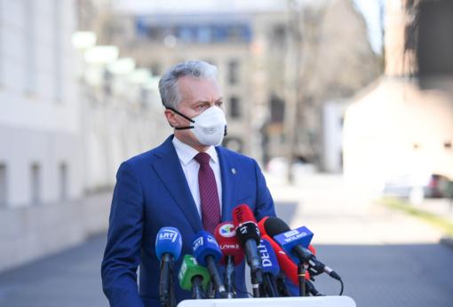 G. Nausėda įvertino rekomendaciją testuoti aukščiausius šalies pareigūnus: kvepia dvigubais standartais