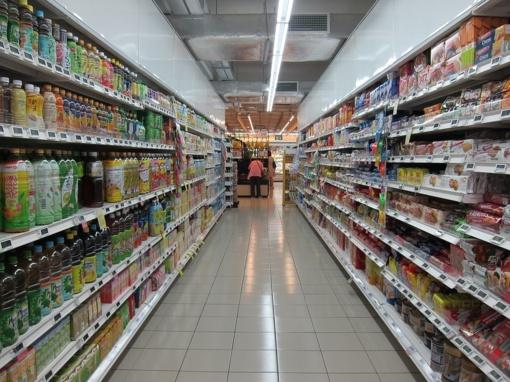 Kaip dezinfekuoti produktus iš parduotuvės?
