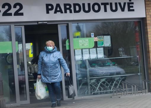 Lietuvių srautas į maisto parduotuves gegužės pradžioje buvo didžiausias per visus 2021-uosius