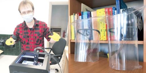 Stebuklingi akiniai gimsta bibliotekoje