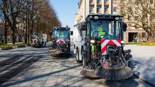 Investavus į naują techniką, Kauno gatvės valomos efektyviau ir švariau