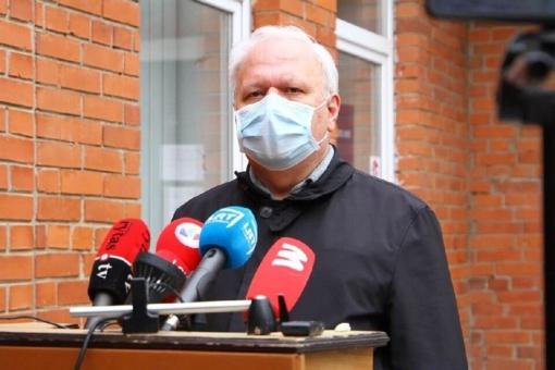 Naujausia informacija apie koronavirusą Panevėžyje: stacionare du ligoniai, keturi laukia atsakymų