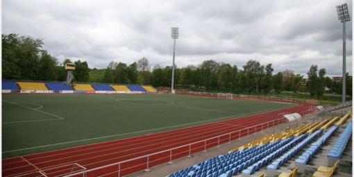 Po Velykų pajudės miesto stadiono tvarkymo darbai