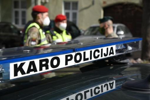 Lietuvos kariuomenės Karo policija didina paramą šalies policijai