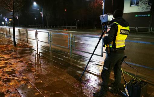 Praėjusią savaitę Kauno apskrityje užfiksuota beveik 5 tūkst. greičio viršijimo atvejų