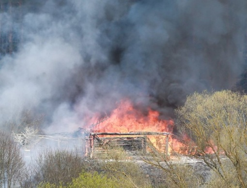 Jau antras gaisras pasiglemžė gyventojų turtą