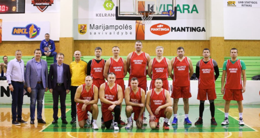 Stabdoma Marijampolės veteranų krepšinio lyga