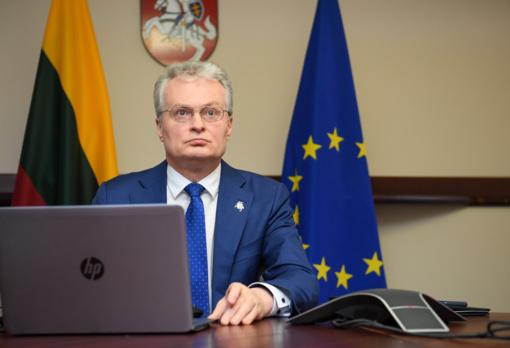 ES ekonomikos gaivinimo planas turi būti adekvatus koronaviruso krizei, sako G. Nausėda