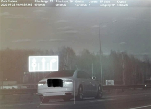 Kauno policija išrinko savaitės lakstūną: Islandijos plentu skriejo kaip pakilimo taku