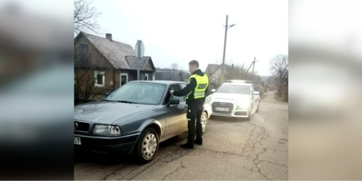Savaitgalį Kėdainiuose – girtų vairuotojų desantas