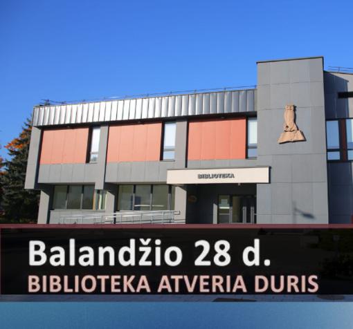 P. Kriaučiūno viešoji biblioteka atnaujina lankytojų aptarnavimą