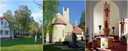 Išpažintis – ir žiedais kvepiančiame bažnyčios sode
