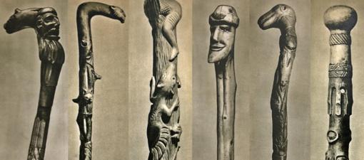 Lazdos senovėje:  ir pasiremti, ir pasigrožėti liaudies meistrų talentu