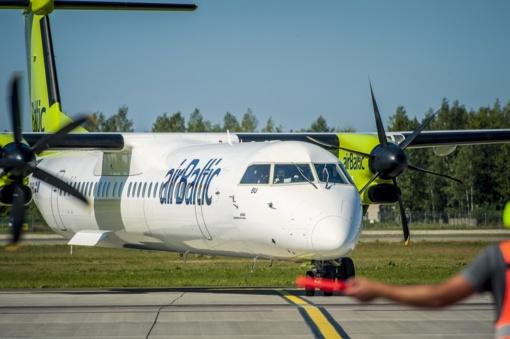 """""""Air Baltic"""" skrydžius iš Vilniaus į Rygą atnaujina gegužės 13-ąją"""
