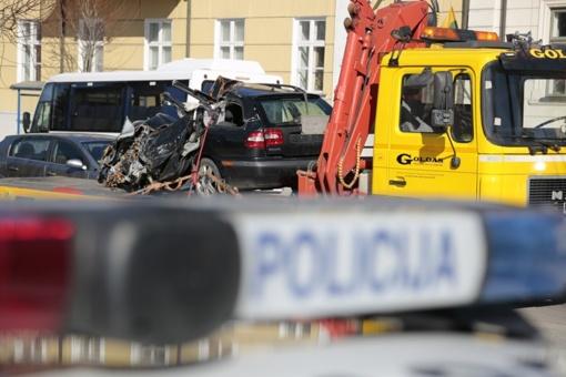 Girtas vairuotojas prarado traktorių