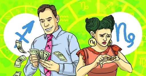 6 ekstravagantiški Zodiako ženklai: jie leidžia pinigus negalvodami