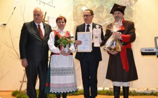 Kadzidlo mieste, Lenkijoje – didžiulė Gerumo angelo iš Sidabravo kopija
