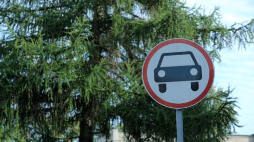 Merkinės gatvėje ribojamas eismas