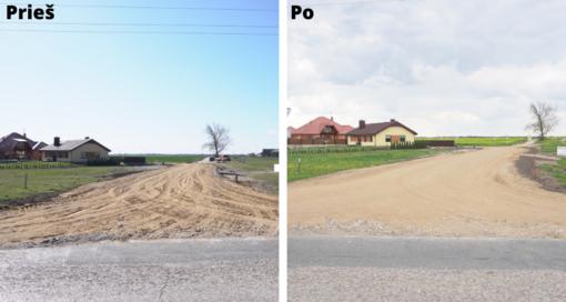 Baigti gatvių rekonstrukcijos darbai