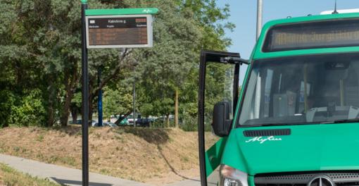 Ilginamas Alytaus viešojo transporto darbo laikas, šeštadieniais – papildomi maršrutai