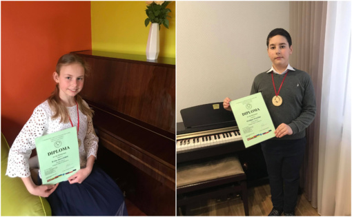Tarptautiniame konkurse – jaunų zarasiškių sėkmė