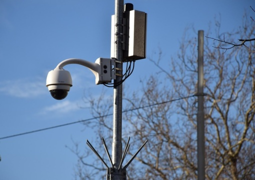 Saugumą Jurbarko mieste užtikrins naujos vaizdo stebėjimo kameros