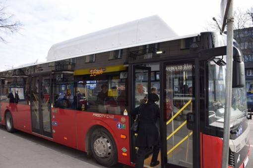 Nuo pirmadienio Panevėžyje keisis autobusų eismas