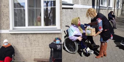 Šilutės senelių globos namų gyventojai apsaugoti, tačiau pasiilgo artimųjų…