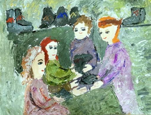 Jaunųjų Ignalinos menininkių įvertinimas