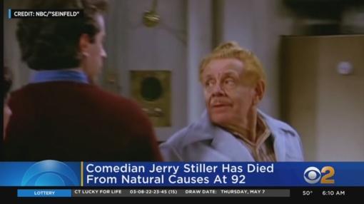 """Mirė komikas ir serialo """"Seinfeld"""" aktorius Jerry Stilleris"""