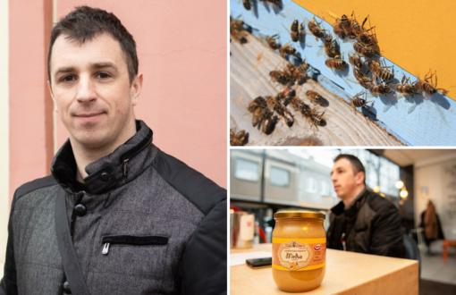 """Naujasis Panevėžio bitininkų draugijos pirmininkas V. Arbutavičius: """"Bitės traukė jau nuo trejų metų"""""""