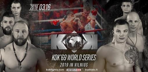 KOK turnyras Vilniuje perkeliamas dar kartą