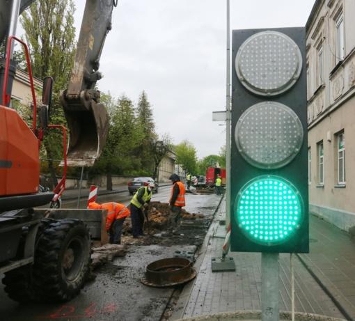 Pradėti vandentiekio tinklų rekonstrukcijos darbai Vytauto gatvėje