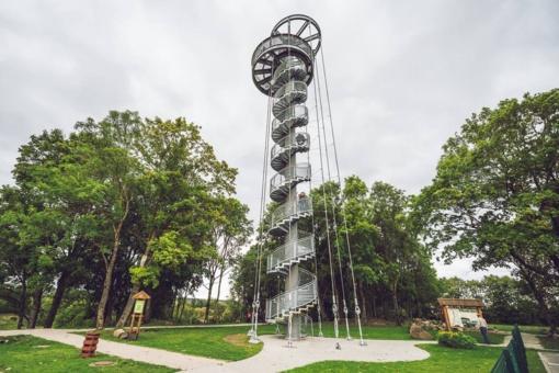 Krekenavos regioniniame parke atsivers apžvalgos bokštas