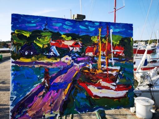 """Tapybos plenero """"Nidos ekspresija"""" dailininkai kviečiami savo kūrybą pristatyti virtualiai"""