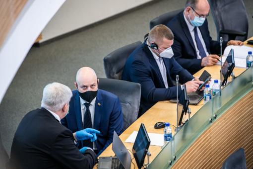 A. Veryga: Lietuva nėra sala, tad skubėti atšaukti karantino nereikia net nenustatant naujų atvejų