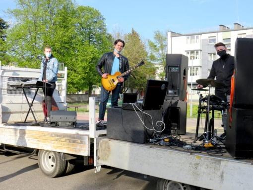 Dovana vilkaviškiečiams – trys koncertai