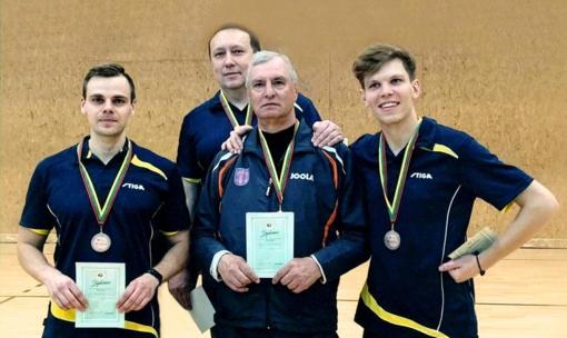 Vilkaviškio stalo tenisininkai tapo Lietuvos vicečempionais