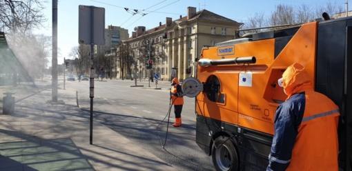 Purkšti gatves dezinfekantais gali būti kenksminga