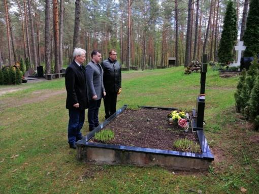 Pagerbtas partizanų atminimas