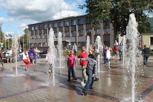 Miesto fontanai pradės veikti vėliau