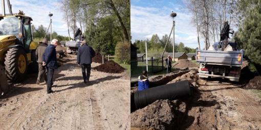 Jurbarke ir Viešvilėje pradėti gatvių remonto darbai