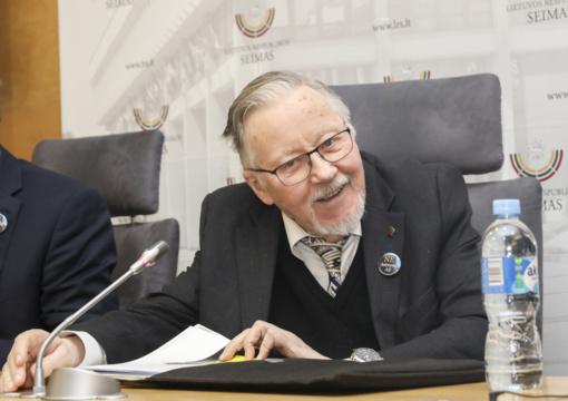 Prof. V. Landsbergis: dar viena grėsmė, kad Lietuvoje yra nemažai Astravo AE palaikytojų