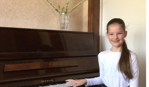 Pagėgiškė jaunųjų muzikantų konkurse užėmė trečią vietą
