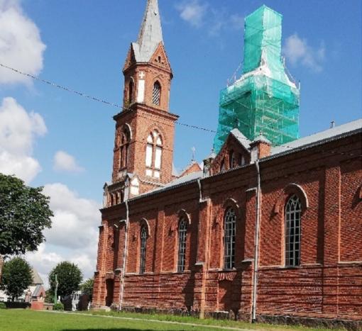 Remonto sulauks ir bažnyčia