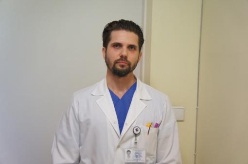 Ligoninės ortopedai traumatologai pirmieji Lietuvoje panaudojo nervo implantą