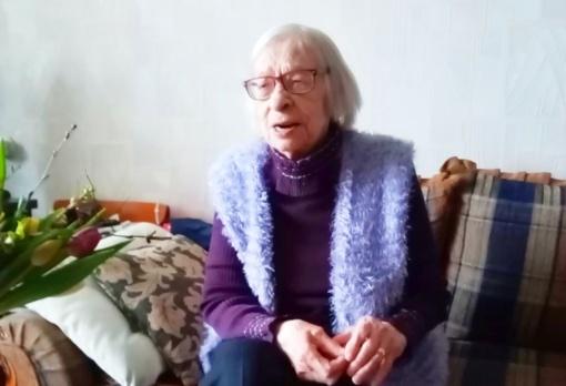 Šiaulietė Elena Valentėlienė pasitiko garbingą sukaktį